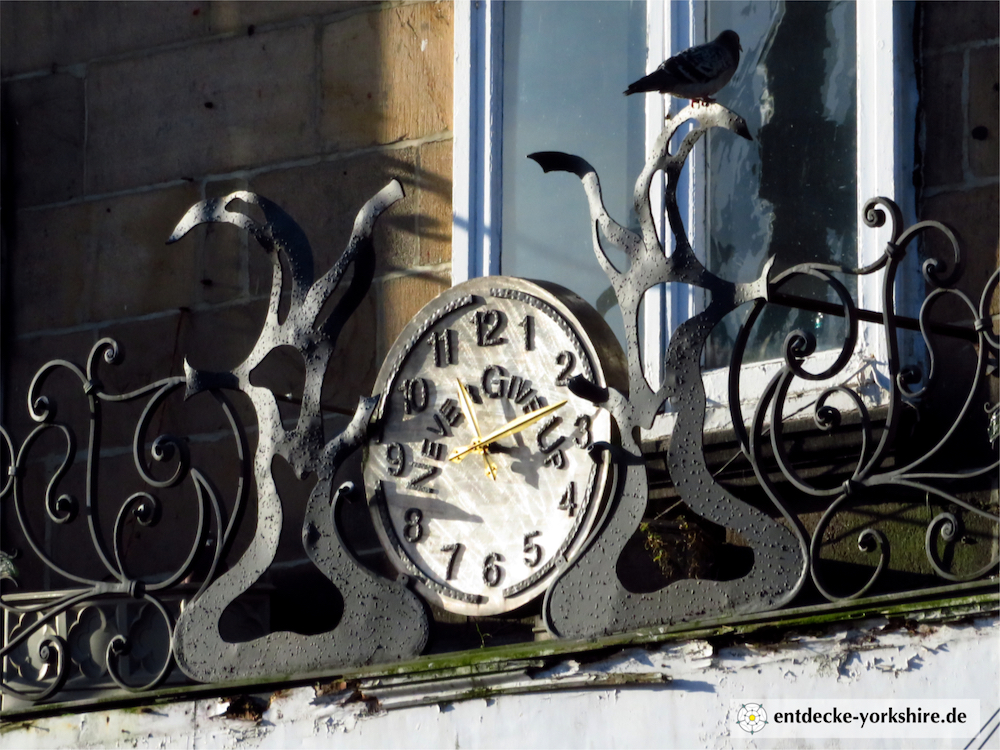 Kirkgate Arcade Otley Clock