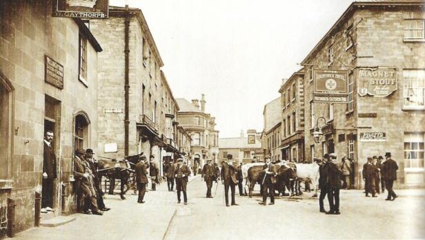 Wetherby High Street Rindermarkt ©Wetherby Historical Trust