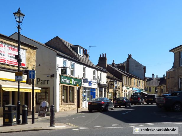 Wetherby Market Place und Church Street 2020