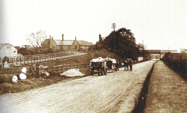 Wetherby York Road mit Güterschuppen ©Wetherby Historical Trust